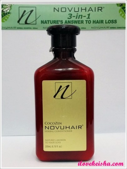 Novuhair Herbal Conditioner