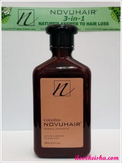 Novuhair Herbal Shampoo