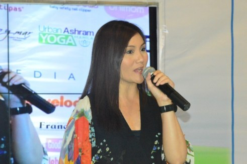 Celebrity Mom Gladys Reyes shares her personal stories during the Baby and Family Expo PH 2013