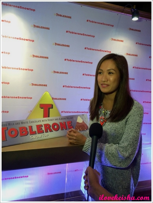 Toblerone Snow Top event