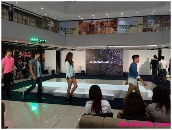 SM #MadAboutDenim Fashion Show in Megamall