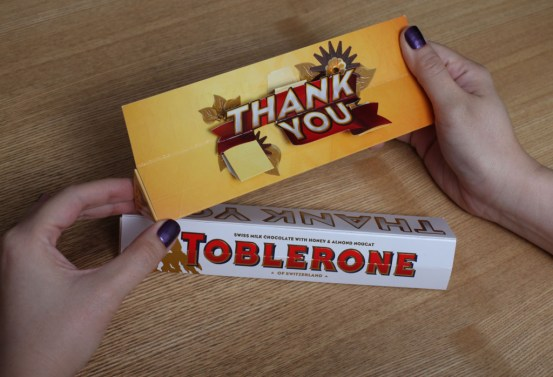 Toblerone Thank You