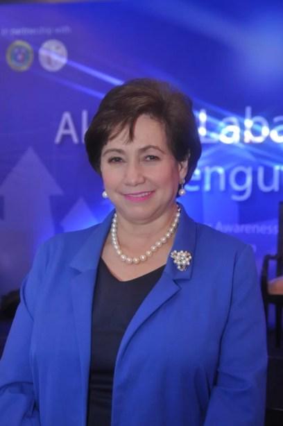 Dr Sally Gatchalian, Secretary Philippine Pediatric Society 3