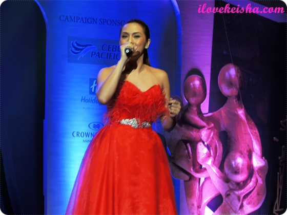Nikki Gil at Jollibee Family Values Awards 2014