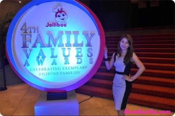 Keisha's Mom at Jollibee Family Values Awards 2014