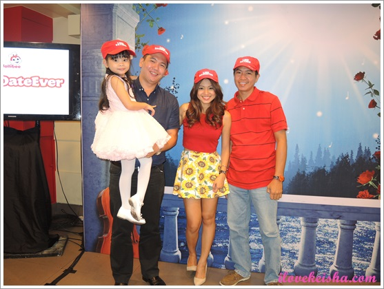 Jollibee Ph Best Date Ever Keisha and Daddy Noel with Nadine Lustre