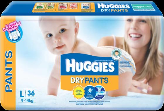 Huggies Dry Pants Packshot
