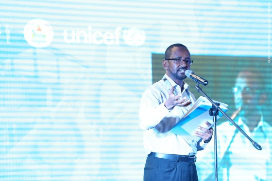 Maulid Warfa Chief of UNICEF Tacloban Office