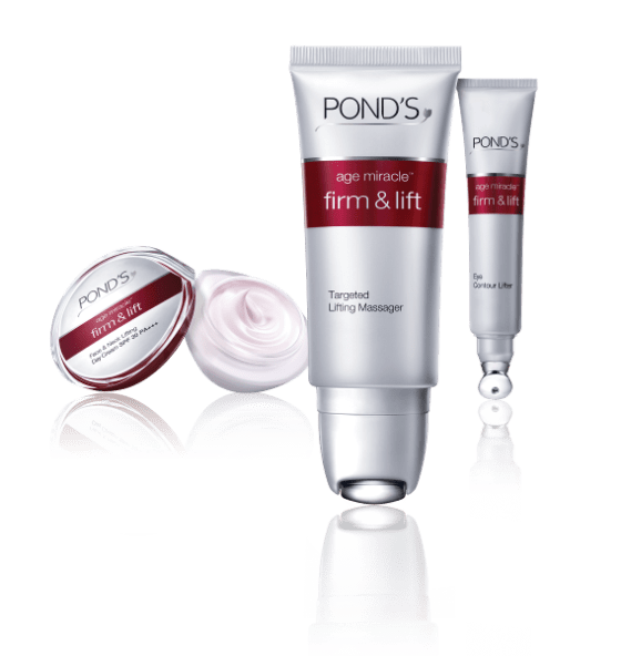 ponds frima nd lift product range
