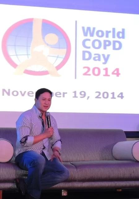 Eric Quizon World COPD Day