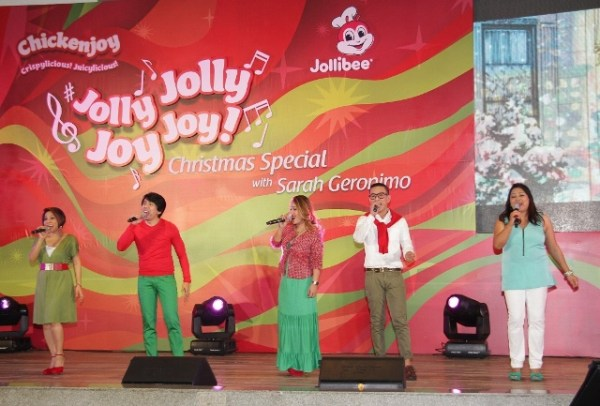 The Company at Jollibee Show