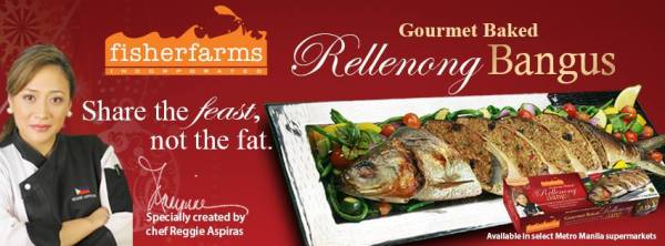 Fisher Farms Gourmet Baked Rellenong Bangus