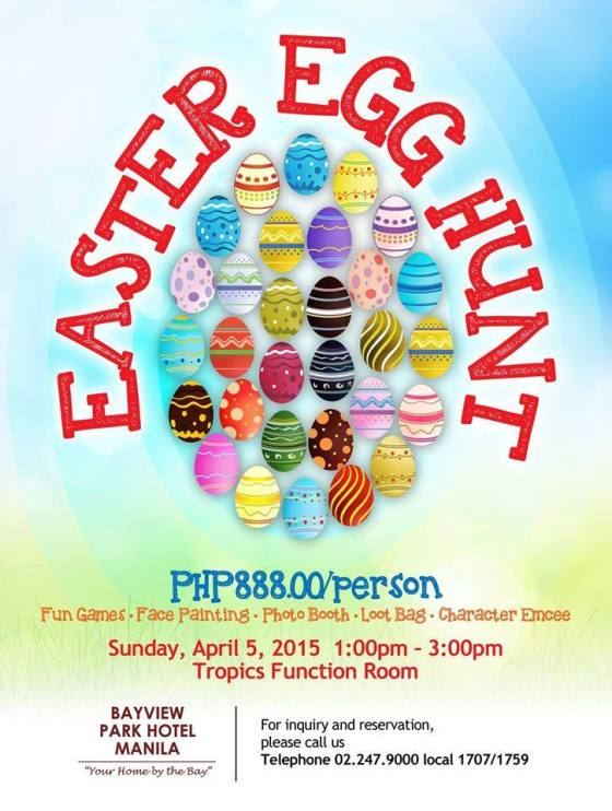 Bayview Park Hotel Easter Egg Hunt Event 1