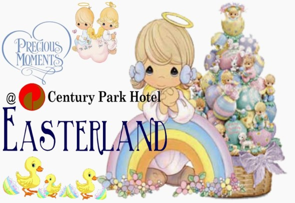 Century Park Hotel Easter Egg Hunting Event