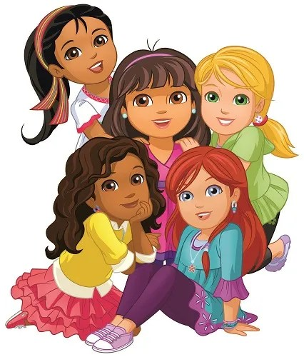 DORA_Girls Group (Credit - Nick Jr.)