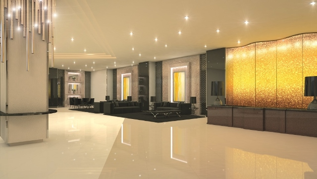 Fame Residences Lobby