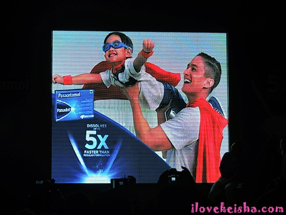 Ryan Agoncillo with Lucho for Panadol