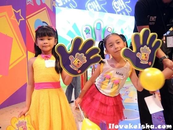 Keisha and Maia at Hi-5 Philippines