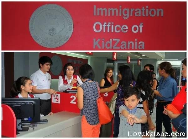 9 KidZania Immigration Office
