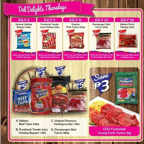 Robinsons Supermarket 2nd Freshtival 2015 Deli Delight Thursdays