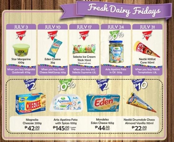 Robinsons Supermarket 2nd Freshtival 2015 Fresh Dairy Fridays