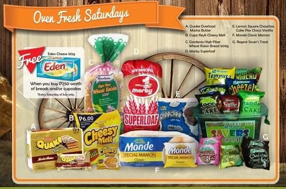 Robinsons Supermarket 2nd Freshtival 2015 Oven Fresh Saturdays