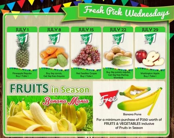 Robinsons Supermarket 2nd Freshtival 2015 Fresh Pick Wednesdays