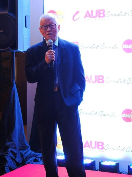 AUB Easy MasterCard launch