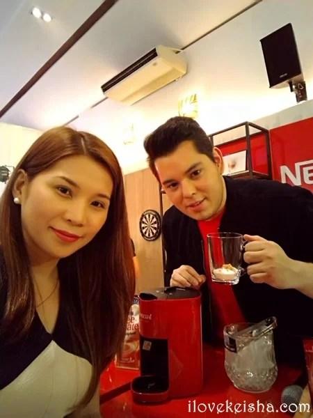 nescafe red mug launch with rayond gutierrez