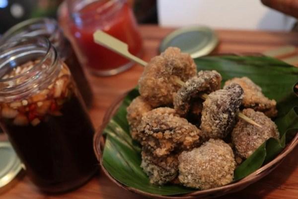Tapang Kabute Kropeck by Chef Dem Tulaylay