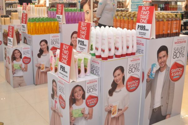 Watsons Switch and Save Products