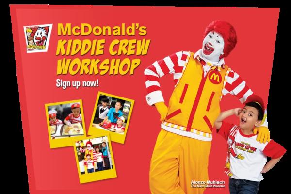 2. Mcdonalds kiddie crew 1