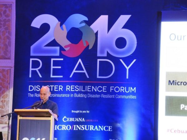 Disaster Resilience Forum 2016
