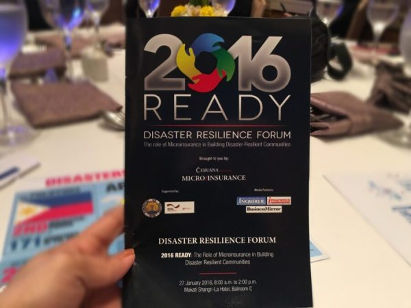 Disaster Resilience Forum Cebuana Lhuillier 4