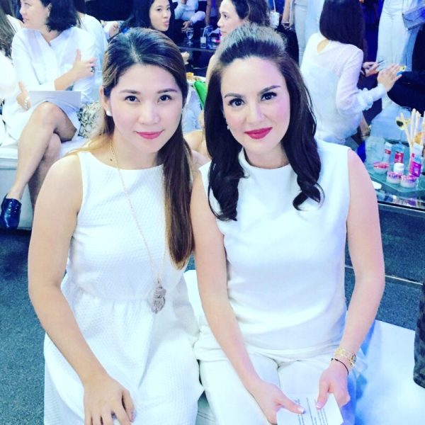 Chesca Kramer and Kaye Figuracion