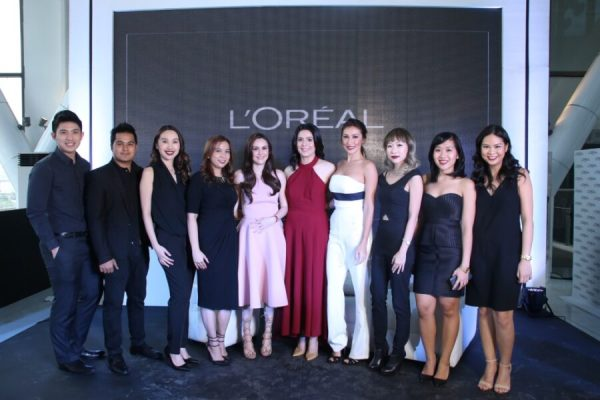 LOreal Paris Filipina Ambassadors with LOreal Paris PH Brand Team