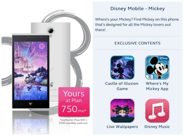 A Disney Mobile Mickey