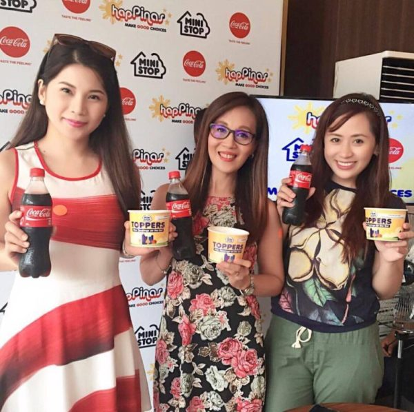 Fab Four Ministop x Coca-Cola Launch