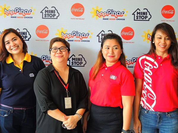 Ministop X Coca-Cola Partnership Executives