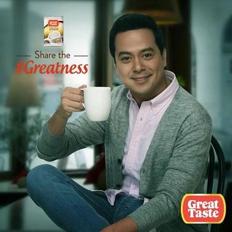 2 Great Taste Coffee john Lloyd Cruz