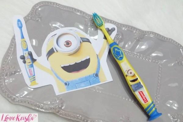 Colgate Minions Toothbrush Yellow