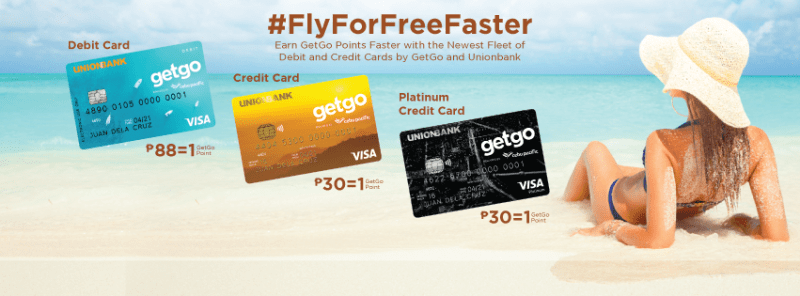 Fly For Free Faster with GetGo and UnionBank