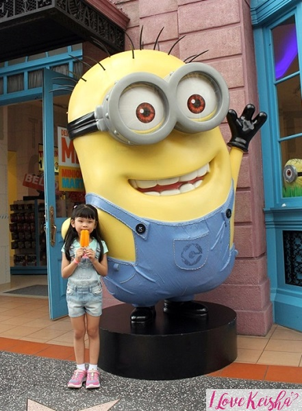 Keisha with Minion