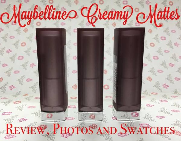 Maybelline Creamy Mattes Review