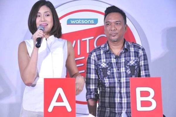 Host Ines Bernardo and Blogger Enzo Luna