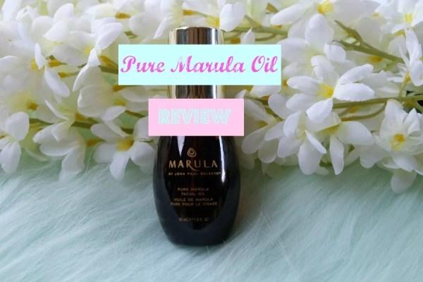 Pure Marula Oil Review | I Love Keisha