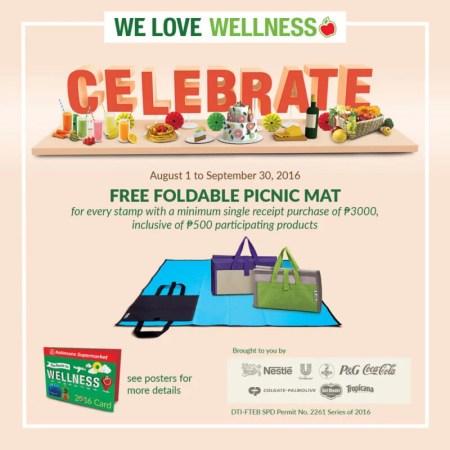 Robinsons Supermarket Celebrate Picnic Mat