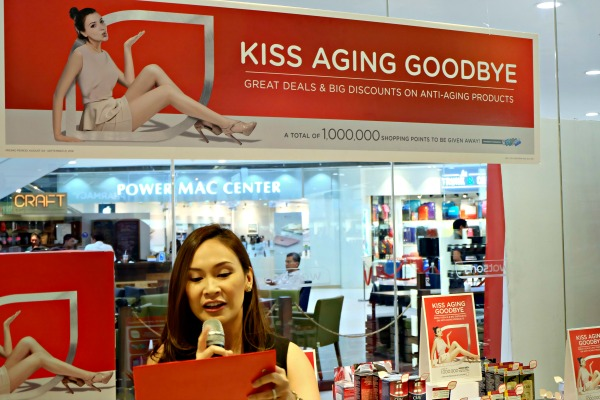 Watsons Kiss Aging Goodbye Event