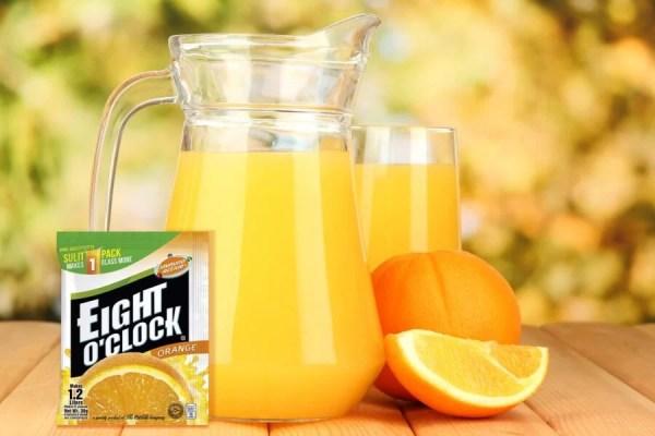 Eight O'Clock Juice