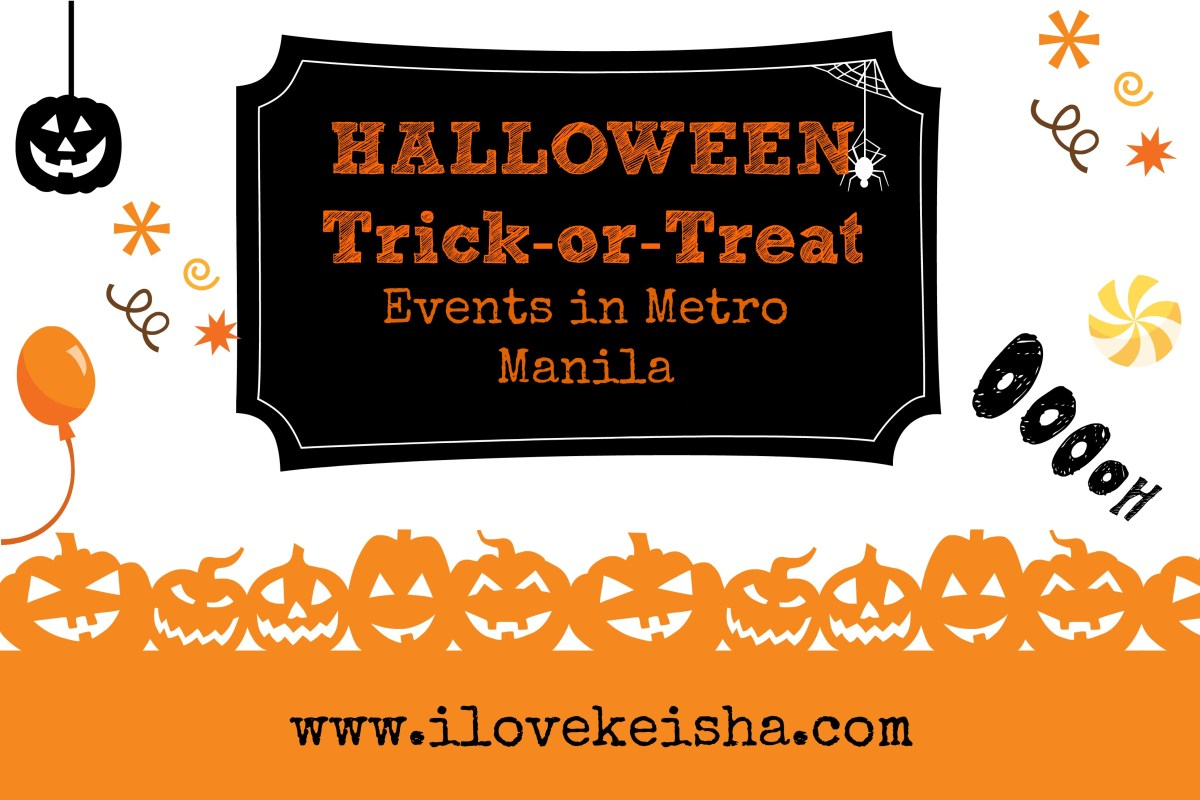 List of Halloween Trick-or-Treat Events in Metro Manila 2017